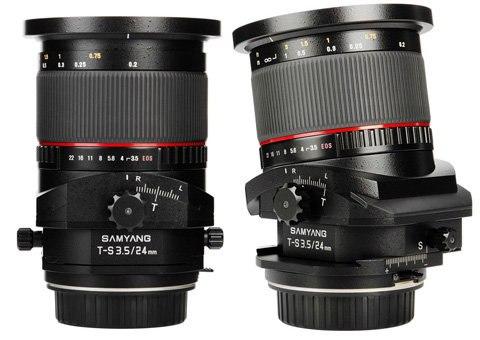 Samyang bán ống kính tilt-shift với giá rẻ hơn một nửa so với Canon 2