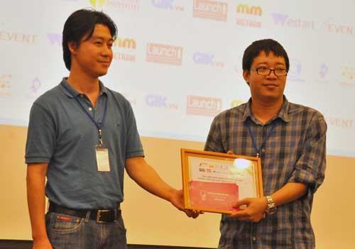 Appota đoạt giải doanh nghiệp công nghệ trẻ tiềm năng 1