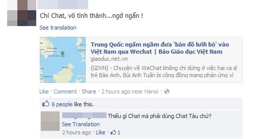 WeChat bị nhiều Sao Việt tẩy chay 7