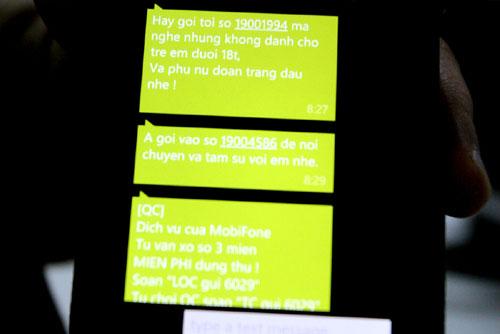 Tin nhắn rác tiếp tục gây rối 1