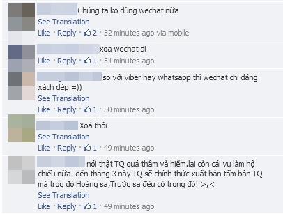 WeChat bị nhiều Sao Việt tẩy chay 9