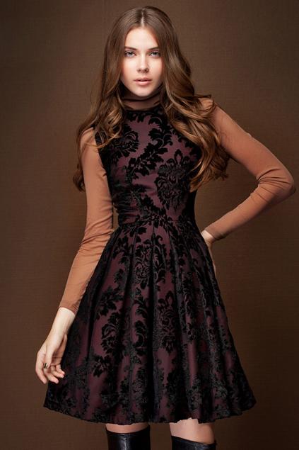 Xinh đẹp bất ngờ với váy xòe cổ điển 12
