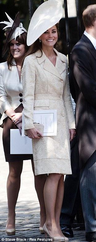 Bí mật về phong cách thời trang của Kate Middleton