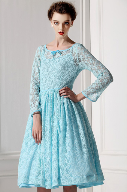 Xinh đẹp bất ngờ với váy xòe cổ điển 6