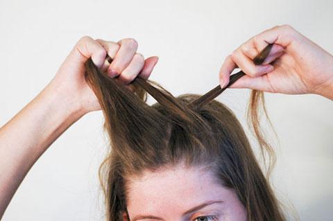 6 bước tết tóc đuôi cá dễ thương kiểu Pháp 3