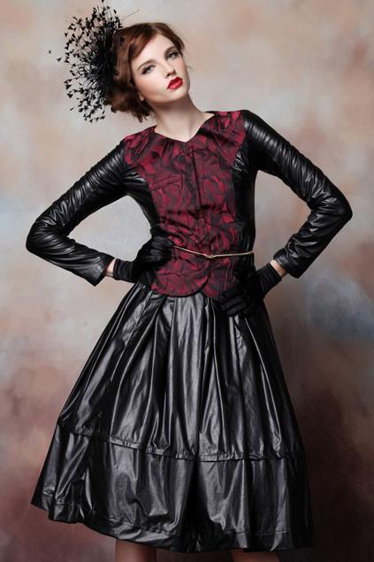 Xinh đẹp bất ngờ với váy xòe cổ điển 10