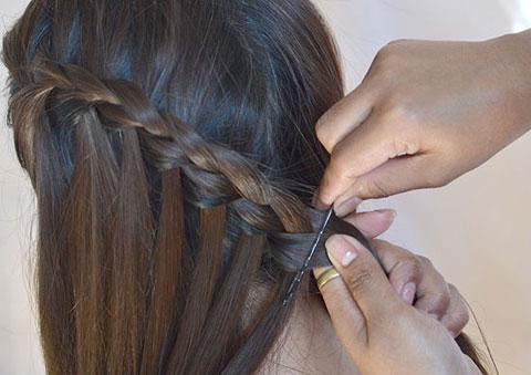 10 bước đơn giản bện tóc đài các 9