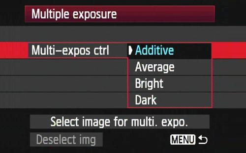 Cách chụp Multiple Exposure với Canon 5D Mark III 3
