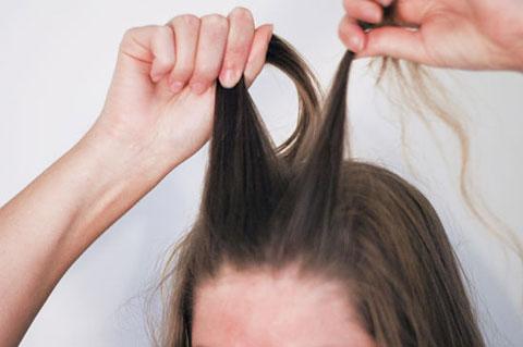 6 bước tết tóc đuôi cá dễ thương kiểu Pháp 1