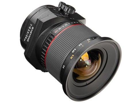 Samyang bán ống kính tilt-shift với giá rẻ hơn một nửa so với Canon 1