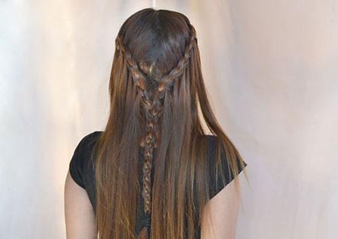 10 bước đơn giản bện tóc đài các 13