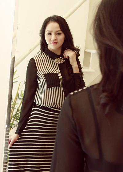 Phan Thị Lý tái xuất sau khi sinh con
