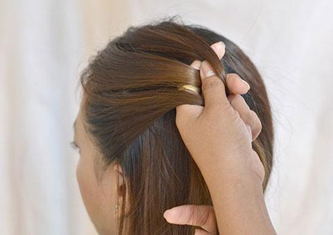 10 bước đơn giản bện tóc đài các 6