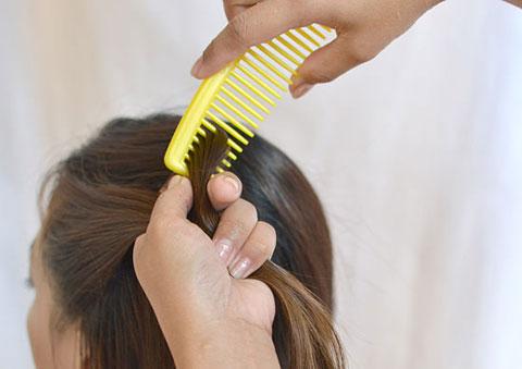 10 bước đơn giản bện tóc đài các 5