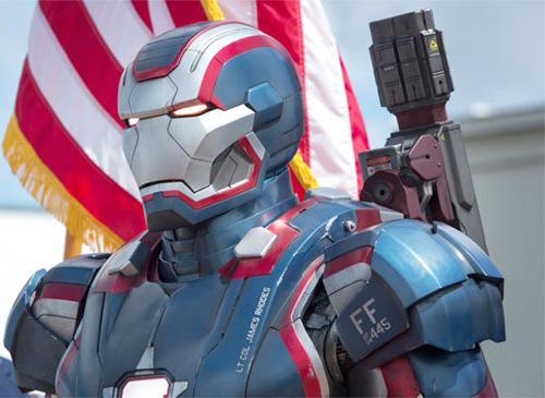 """Iron Man 3 sẽ dùng """"hàng Tàu"""" 1"""