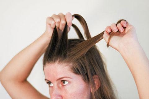 6 bước tết tóc đuôi cá dễ thương kiểu Pháp 2