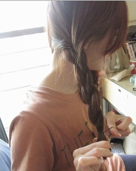 2 kiểu tóc điệu cho tóc ngang vai 11