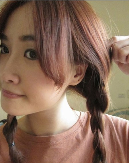 2 kiểu tóc điệu cho tóc ngang vai 12