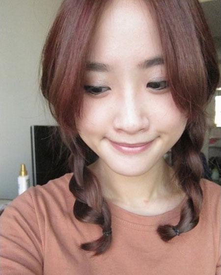 2 kiểu tóc điệu cho tóc ngang vai 15