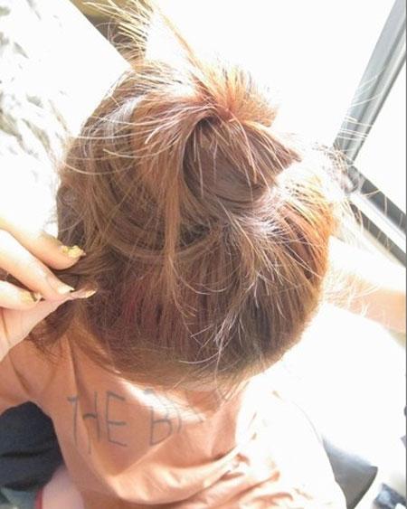 2 kiểu tóc điệu cho tóc ngang vai 5