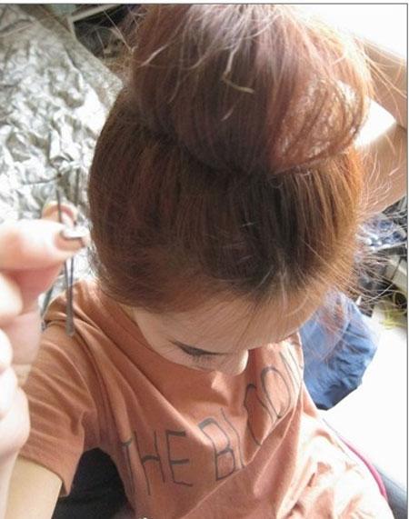 2 kiểu tóc điệu cho tóc ngang vai 6