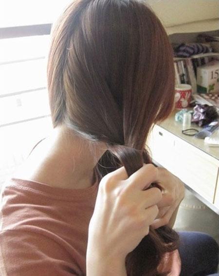 2 kiểu tóc điệu cho tóc ngang vai 10
