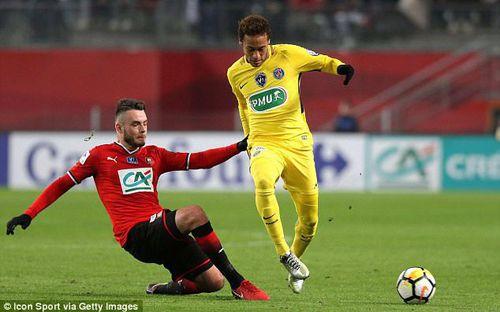 Neymar lập cú đúp, PSG khởi đầu năm 2018 bằng chiến thắng 6-1