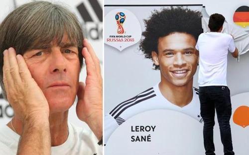 Sao Man City bị loại khỏi tuyển Đức dự World Cup 2018 vào giờ chót