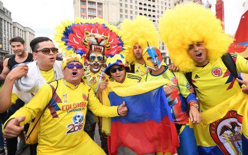 Fan thế giới tạo ra bầu không khí lễ hội ở Nga trong ngày khai mạc World Cup 2018