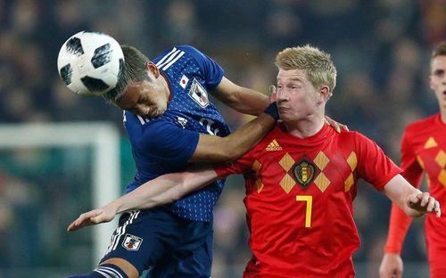 Nhật Bản không có cửa thắng tuyển Bỉ