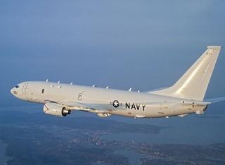 Su-27 Trung Quốc áp sát máy bay săn ngầm Mỹ