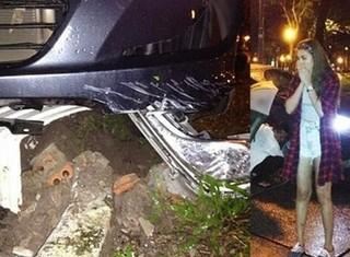 Hồ Ngọc Hà, Lê Khánh thót tim vì sự cố với xe hơi