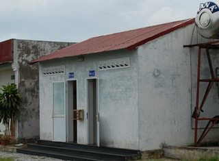 Cận cảnh nhà vệ sinh ở Thanh Hóa đắt bằng căn hộ chung cư Hà Nội
