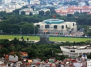 Toàn cảnh Hà Nội từ tòa nhà cao 272m