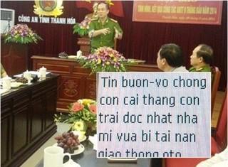 Nguyên Phó trưởng Công an TP Thanh Hóa liên tục bị đe dọa giết