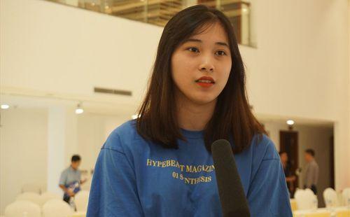 """""""Hoa khôi"""" tuổi 16 của bóng chuyền Việt Nam"""