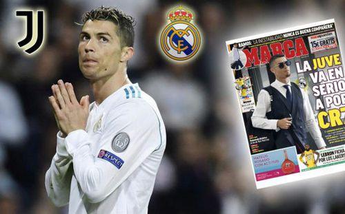Báo thân Real tràn ngập thông tin Ronaldo trên đường rời Bernabeu