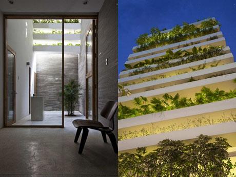 """Ngắm """"Ngôi nhà xanh"""" đoạt giải kiến trúc thế giới 7"""