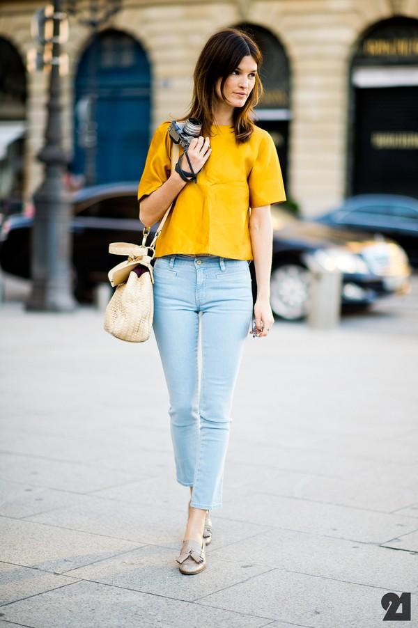 Bí quyết chọn quần jeans che khuyết điểm, tôn dáng người 6