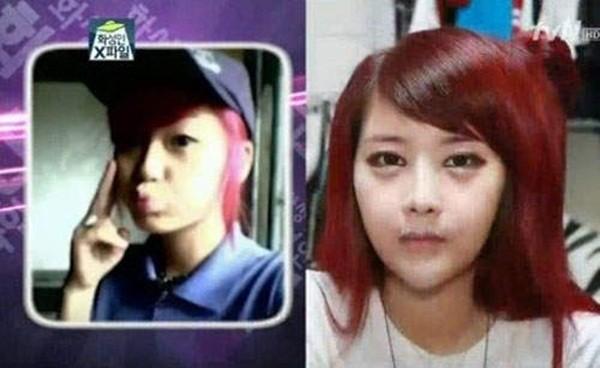 Hàn Quốc: Cô nàng mặt nhọn như người ngoài hành tinh 8