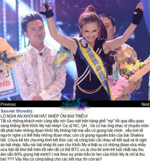 """Những """"sao"""" Việt lao đao vì scandal sau khi đoạt giải lớn 1"""