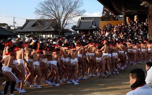 """Cận cảnh lễ hội """"khỏa thân"""" ở Nhật Bản 13"""