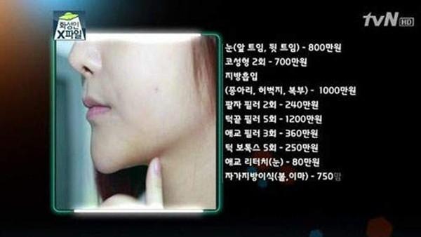 Hàn Quốc: Cô nàng mặt nhọn như người ngoài hành tinh 2