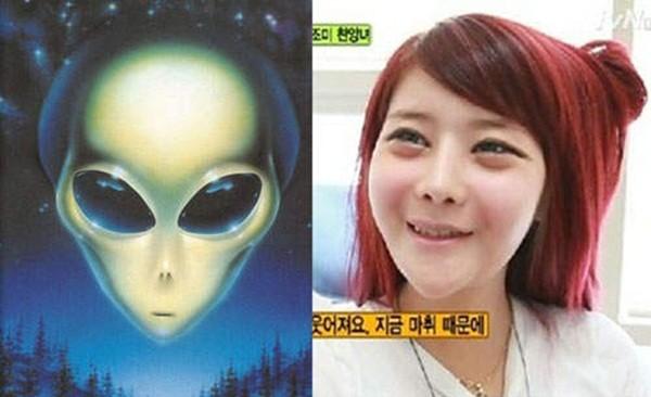 Hàn Quốc: Cô nàng mặt nhọn như người ngoài hành tinh 9
