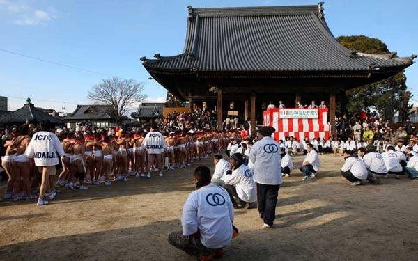 """Cận cảnh lễ hội """"khỏa thân"""" ở Nhật Bản 16"""