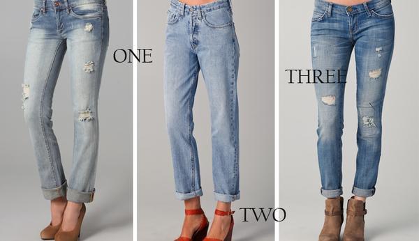 Bí quyết chọn quần jeans che khuyết điểm, tôn dáng người 5