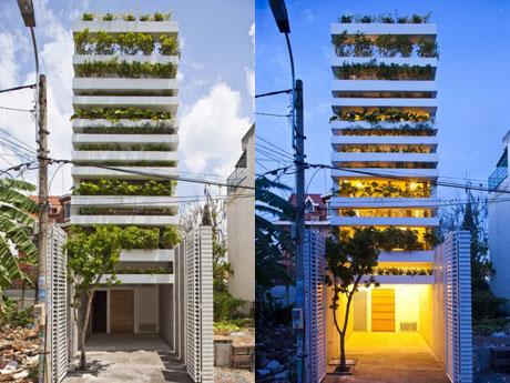 """Ngắm """"Ngôi nhà xanh"""" đoạt giải kiến trúc thế giới 2"""