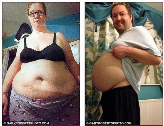 Cặp vợ chồng giảm hơn 100 kg sau 18 tháng 1