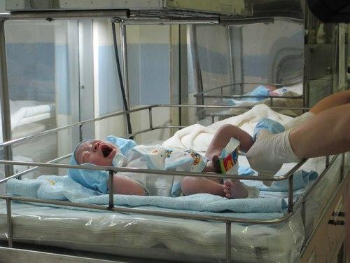 Những em bé chào đời vào thời khắc giao thừa 1