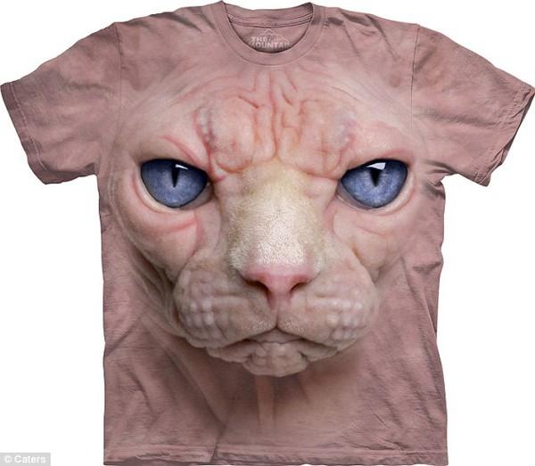Giật mình vì những chiếc áo phông 3D siêu đẹp 2